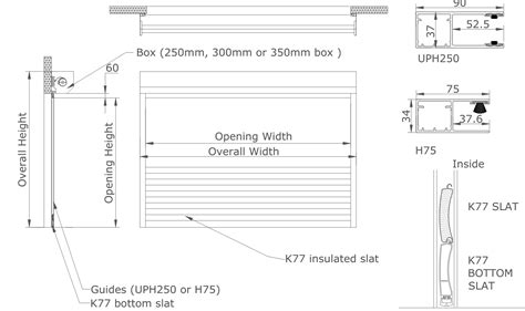 House Plans With Big Kitchens k77 k55 foam filled aluminium roller shutters