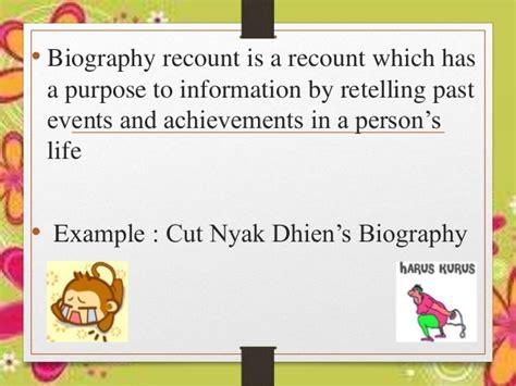 recount text biography teuku umar recount text