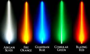 what does the color of a lightsaber 301 moved permanently