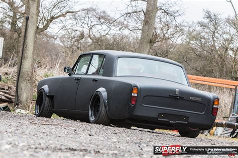 roll royce modified tuning rolls royce silver shadow