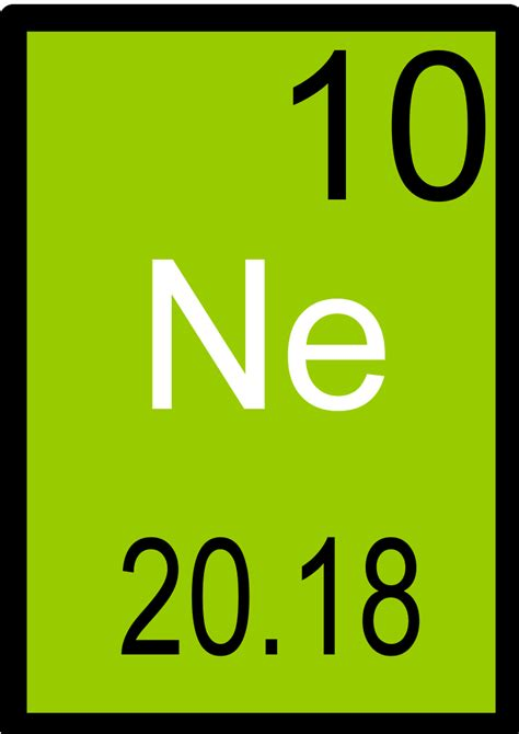 Neon Periodic Table x science jr profiles of the periodic table neon