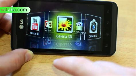 imagenes para celular lg t395 lg optimus 3d en v 237 deo youtube