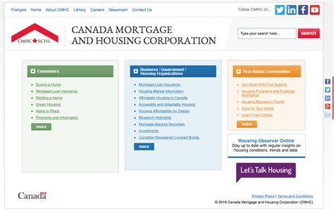 canada housing and mortgage canadian mortgage and housing corporation 28 images