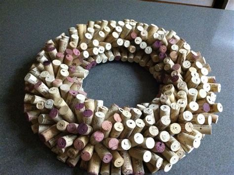 how to make a wine cork wreath snapguide