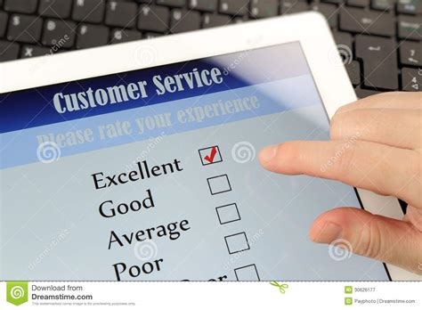 Online Survey Services - customer service online survey royalty free stock photography image 30626177
