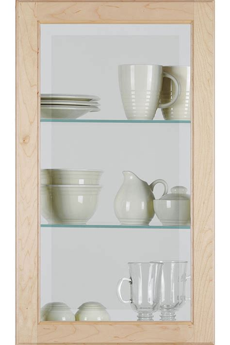 square glass door square glass cabinet door with beveled insert homecrest