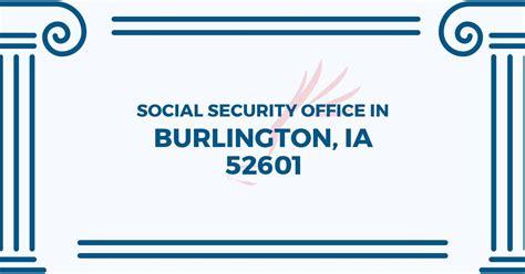 Applications For Burlington Iowa Social Security Office In Burlington Iowa 52601 Get