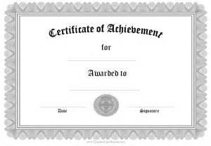 certificates of achievement templates pics photos printable template certificate of certificate of achievement template 19 download in psd