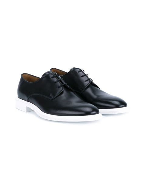givenchy classic derby shoes in black for lyst
