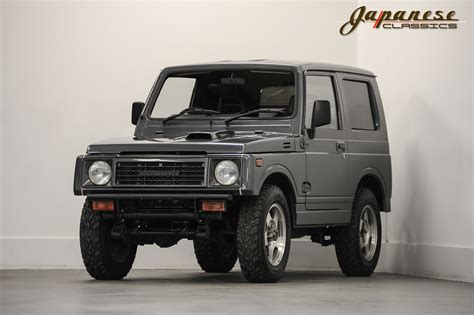 suzuki jeep 1990 japanese classics 1990 suzuki jimny