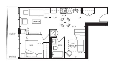 169 fort york blvd floor plans librarydistrict austen ii 1 1 643sqft library district condominiums at 170 fort york boulevard