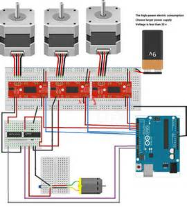 a3967 easy drive stepper motor driver electrodragon