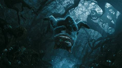 wallpaper blue movie cheshire cat alice in wonderland movie desktop wallpaper