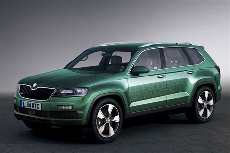 skoda jeep skoda to launch large suv in 2016 first pictures auto