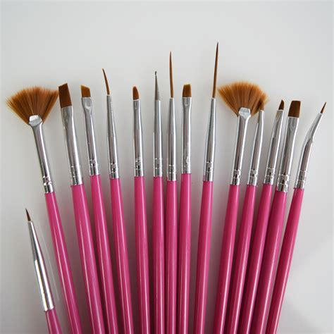 Nail Brushes by Nail Brush Set Lashbase