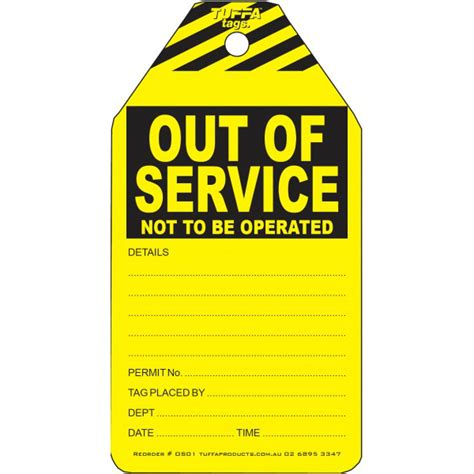 service tags out of service tags safety tags