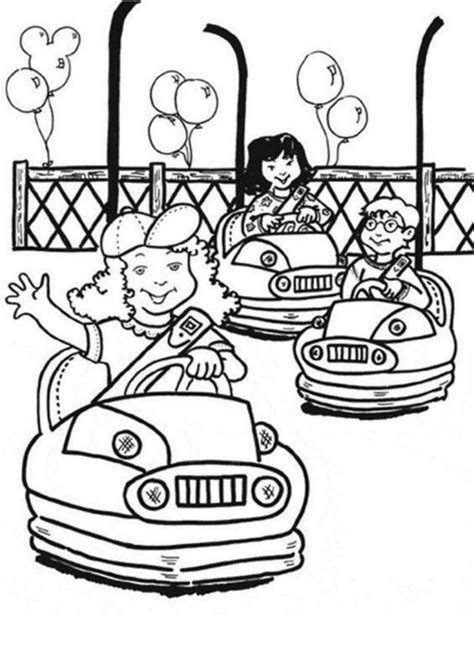 carnival coloring pages pdf print or download circus and carnival free printable