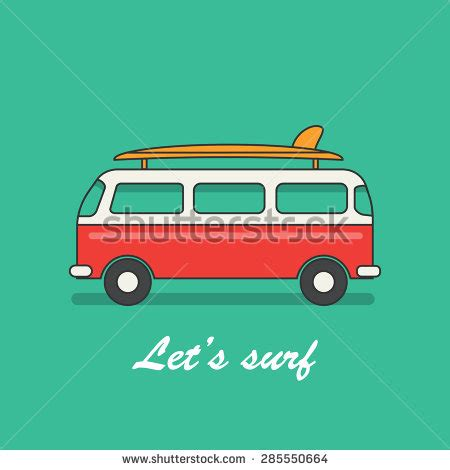 volkswagen with surfboard clipart surfboard clipart 3968054