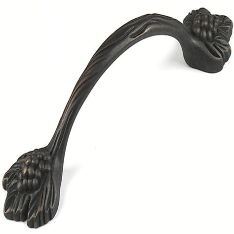 century home living solid brass single lever pull out century hardware vineyard grapevine solid brass pull