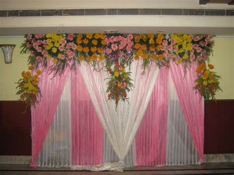 Bridal Flower Decoration by Wedding Stage Flower Decoration Ideas Wedding