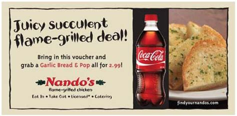 printable nandos vouchers 2014 nandos vouchers discount coupons and freebies