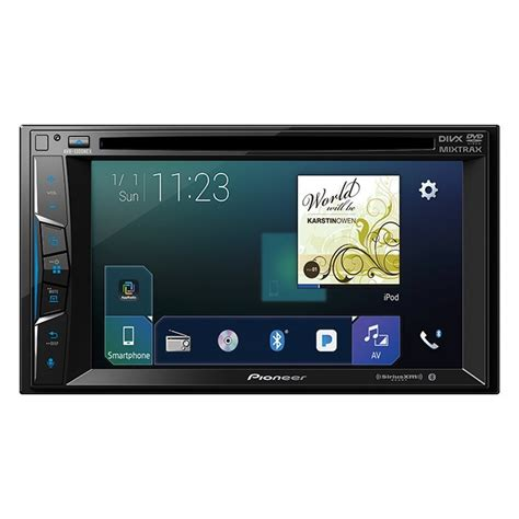 best pioneer car stereo pioneer avh 1300nex 6 2 quot touch screen din