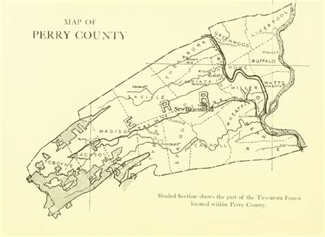 perry county pennsylvania pa history culture family