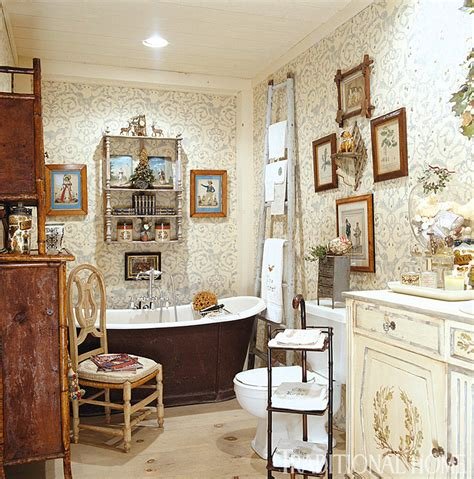 bathrooms traditional home decoration club charles faudree s country cabin traditional home