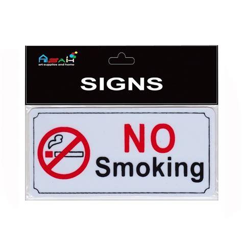 no smoking sign australia miniture no smoking sign plastic black white red 8x4cm