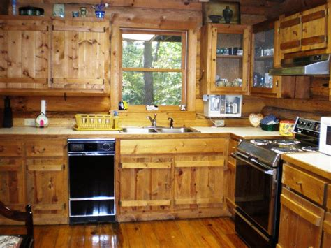 log home kitchen ideas small rustic cabin kitchens www imgkid the image
