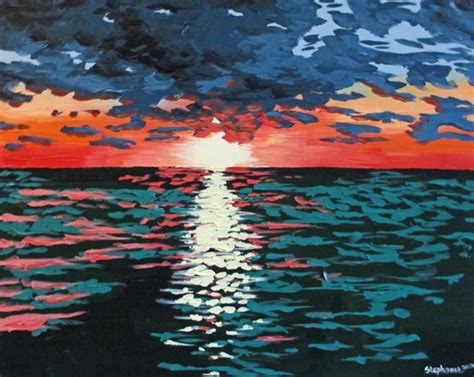 10 Beautiful Acrylic and Oil Seascape Paintings ... Famous Acrylic Painting