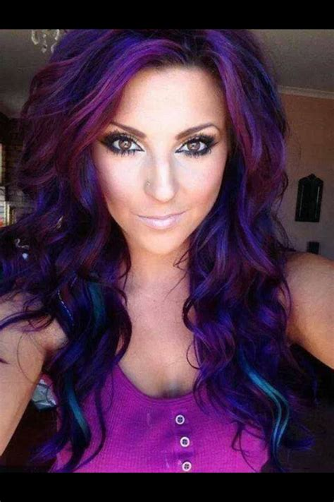brunette hairstyles with purple highlights must see top 15 hairstyles and haircuts next style