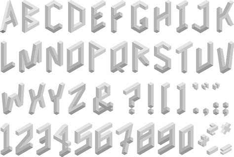 lettere impossibile david macdonald impossible alphabets and fonts