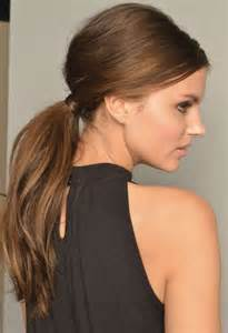 ponytail styles for hair 35 fetching hairstyles for straight hair