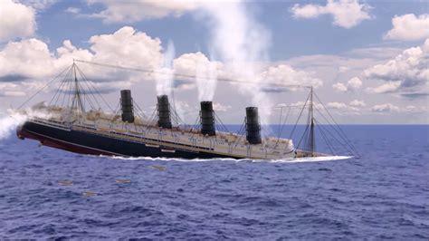 sinking of the lusitania sinking of the lusitania hd animation