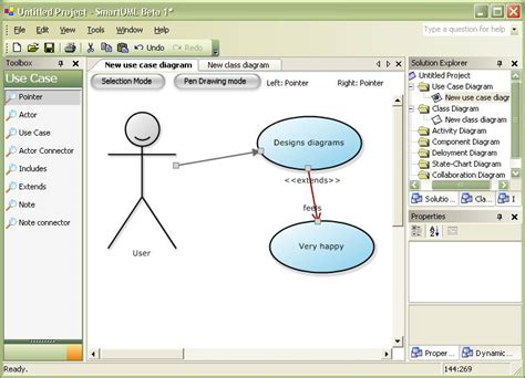 use diagram tool free smart uml smartest uml designer
