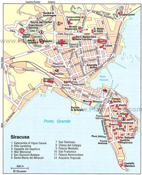 d italia siracusa mappa di siracusa casa gabriella
