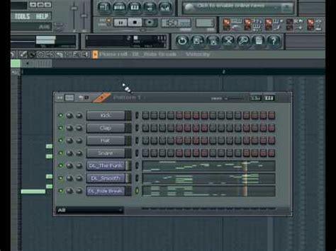 tutorial drum fl studio drum step beat fl studio tutorial youtube