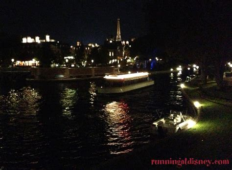 epcot friendship boats ferry running at disney