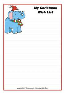 Xmas Wish List Template Gallery For Gt Holiday Wish List Template