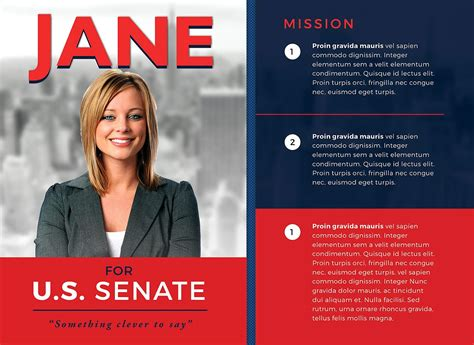 political newsletter template political flyer template 3 flyer templates creative market