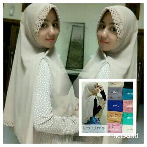 Khimar Buble by Khimar Citra Kirana Buble Pop Jilbab Instan
