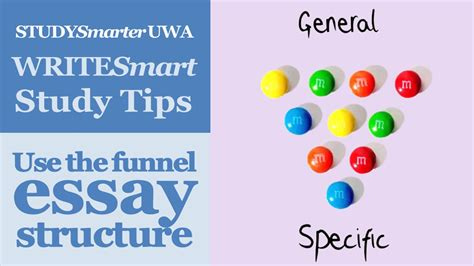 essay structure uwa using the funnel essay structure essay writing at uwa