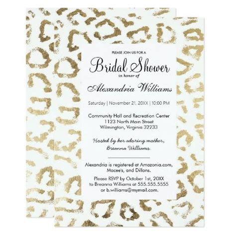 Animal Print Wedding Invitations by 220 Best Animal Print Wedding Invitations Images On