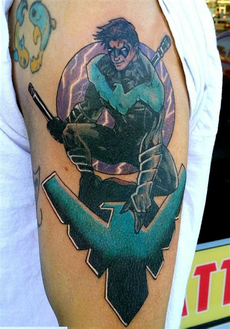 nightwing tattoo 153 best tattoos by steve rieck images on