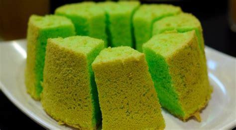 membuat kue bolu pandan resep cara membuat bolu pandan wangi spesial