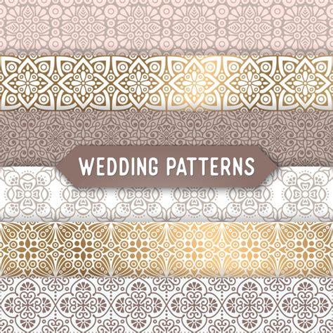 freepik wedding pattern ornamental wedding patterns vector free download