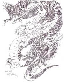 tattoo dragon pinterest japanese tattoo dragon by zell381 d3chjc4 jpg 783 215 1020