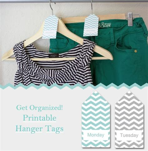 printable hanger tags organize your closet with these free printable hanger tags