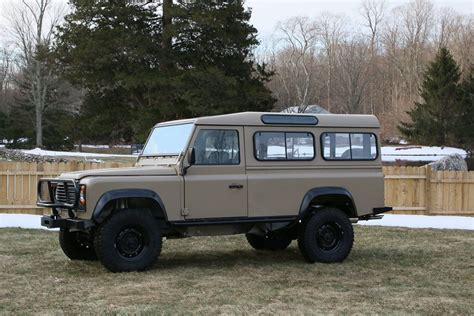 land rover 110 overland 1985 land rover 110 nao expedition paint america
